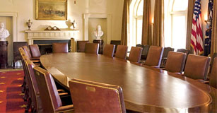 The White House Cabinet room