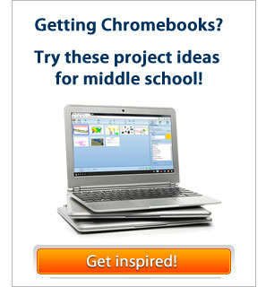 Middle school lessons for Chromebooks